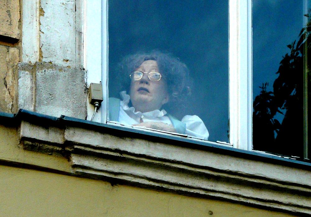 Am Fenster