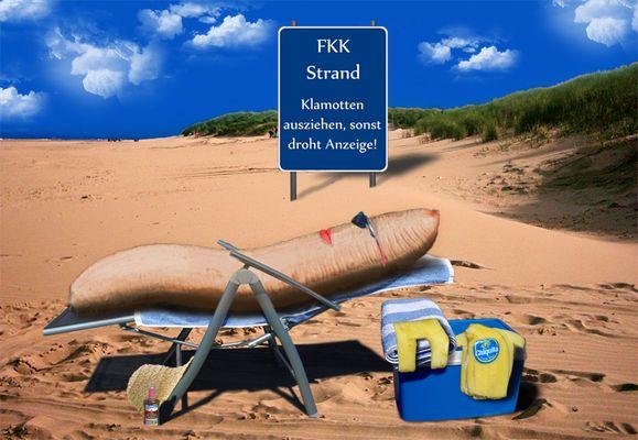 Am FKK Strand