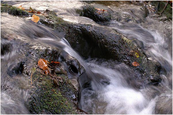 Am fließendem Wasser....
