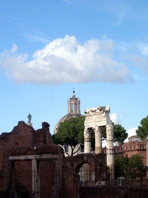 am Forum Romanum