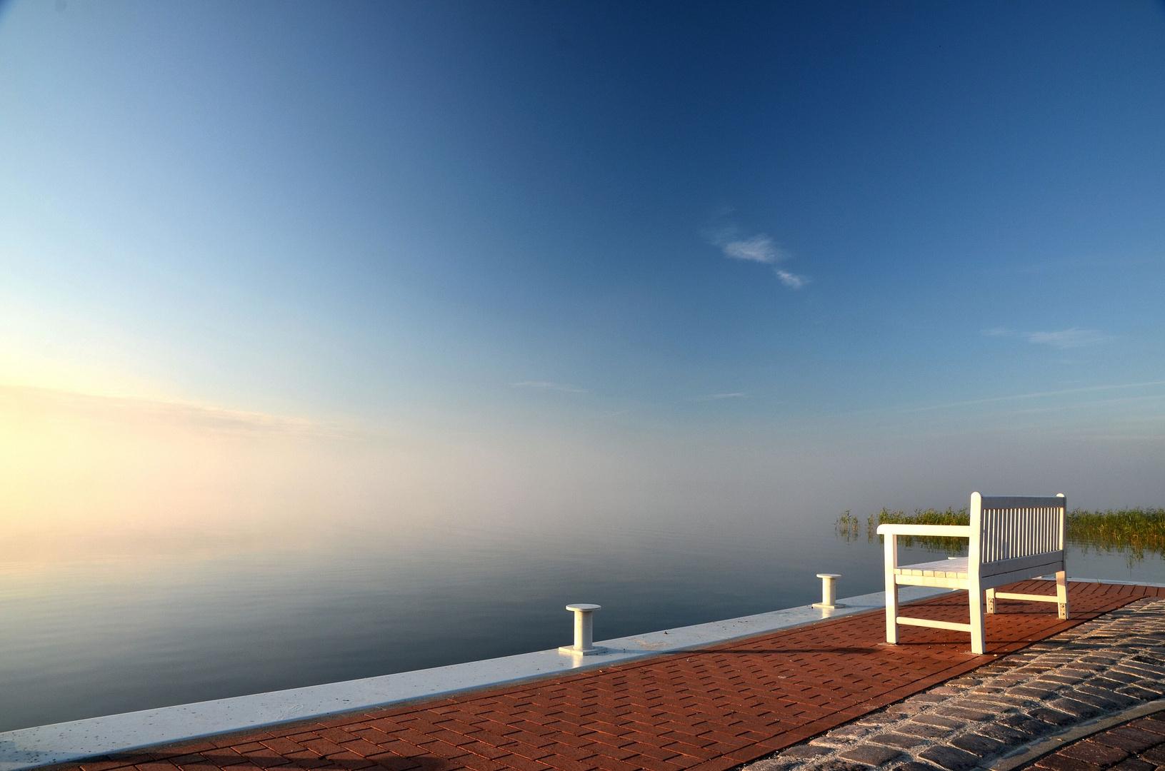 am frühen Morgen - Ruhe