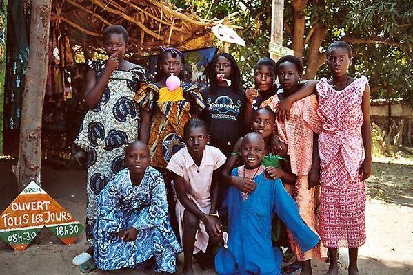 Am Fussballplatz in Abene - Casamance