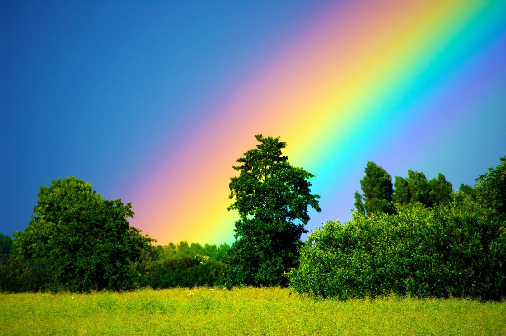 Am Fuße eines Regenbogens