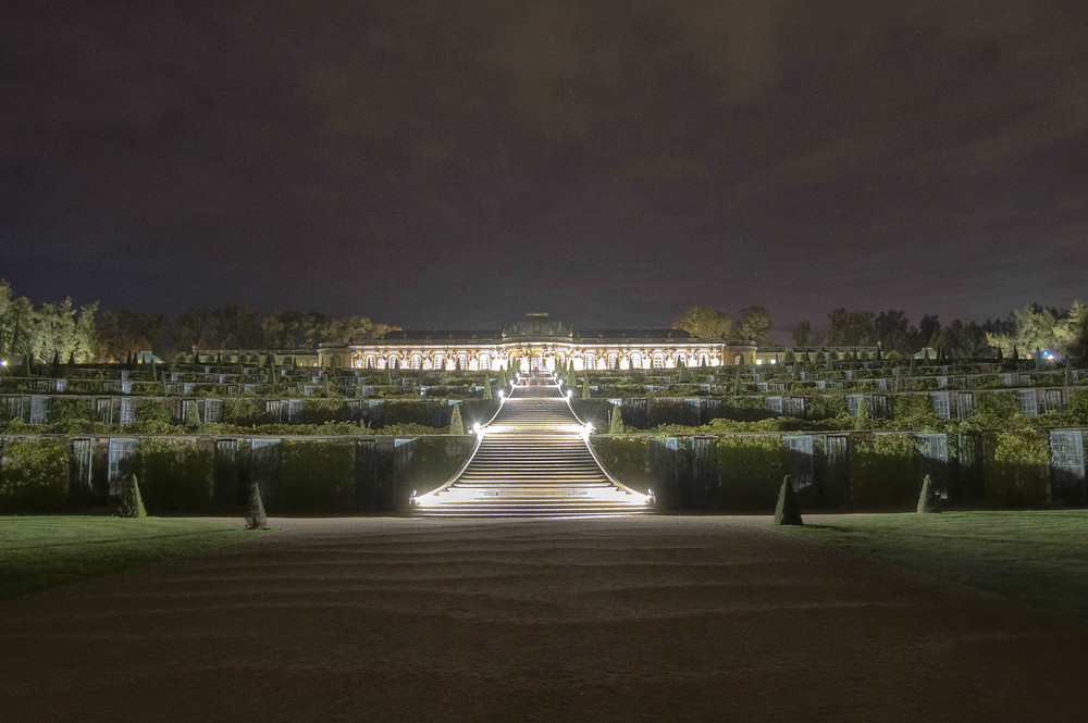 Am Fusse von Schloss Sanssouci