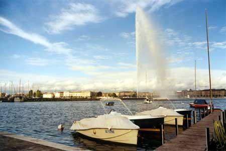 Am Genfer Hafen