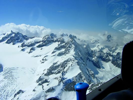 Am Glacier Blanc