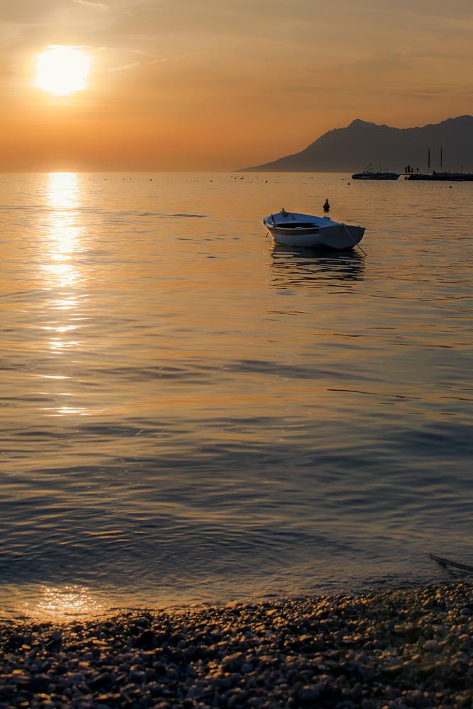Am Goldstrand geht ein goldener Tag geht zu Ende...