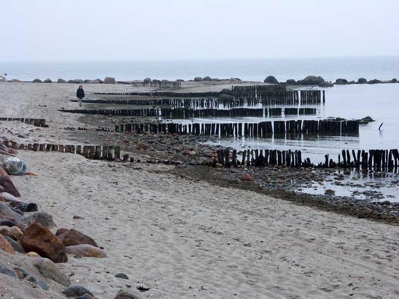Am grauen Meer an einem grauen Tag...