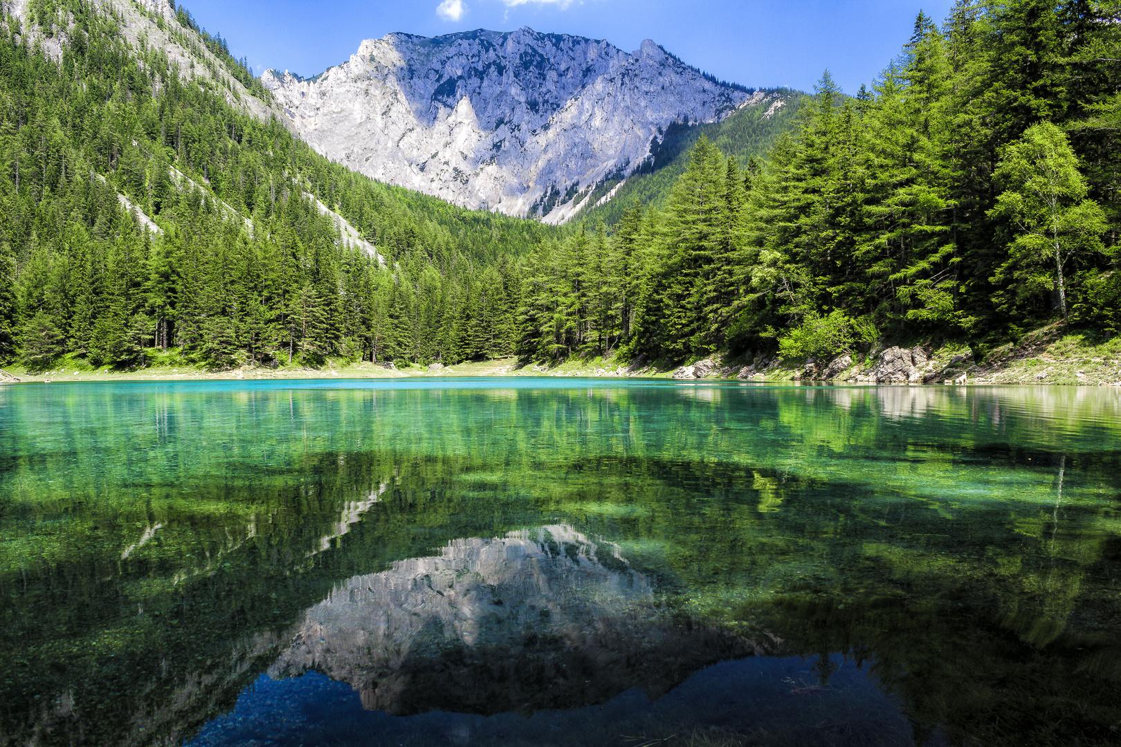 Am Grünen See in der Steiermark