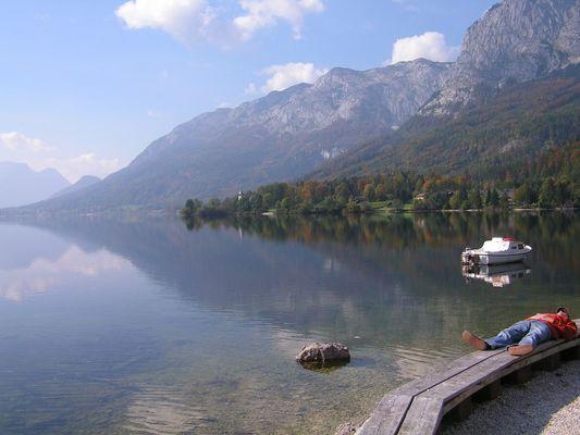 Am Grundlsee, Steiermark