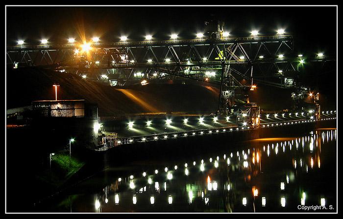 Am Hafen....