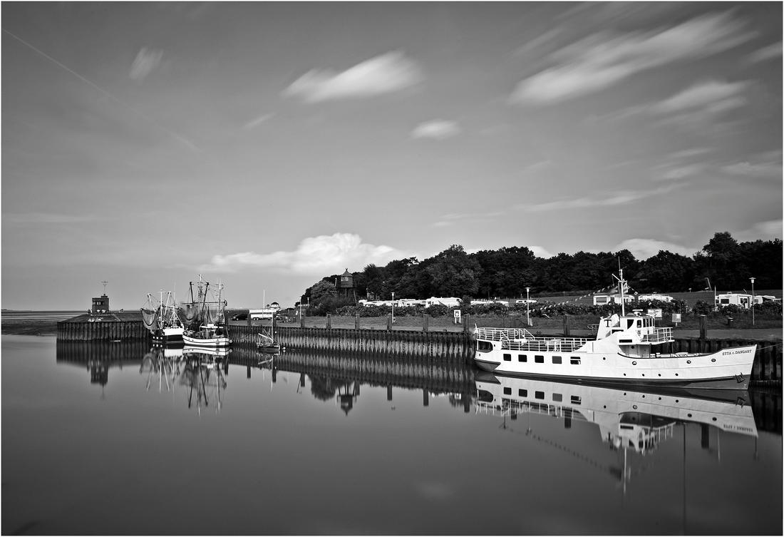 Am Hafen in Dangast