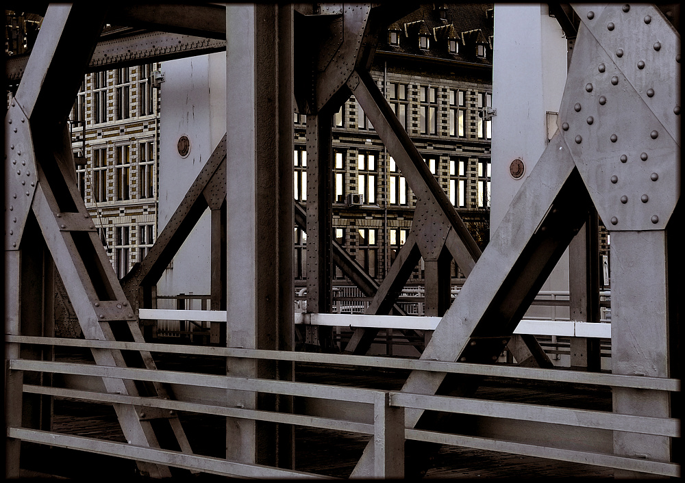 Am Hafen von Antwerpen