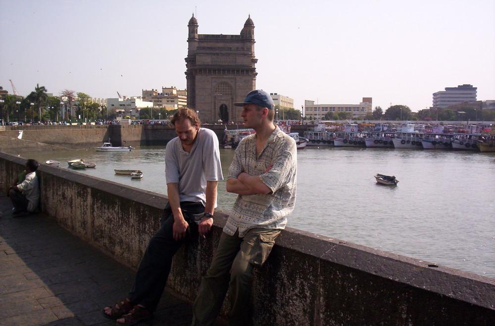 Am Hafen von Mumbay 2005