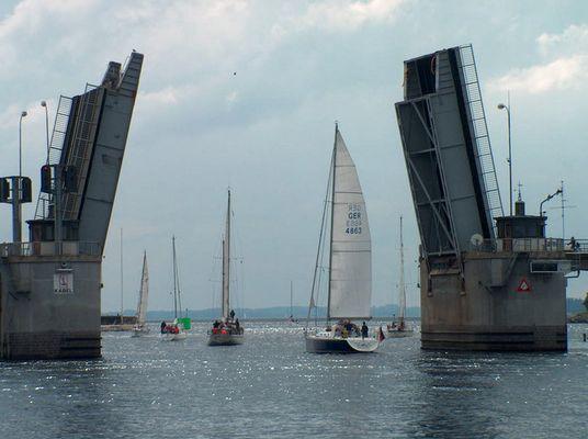 am Hafen von Sonderborg/DK