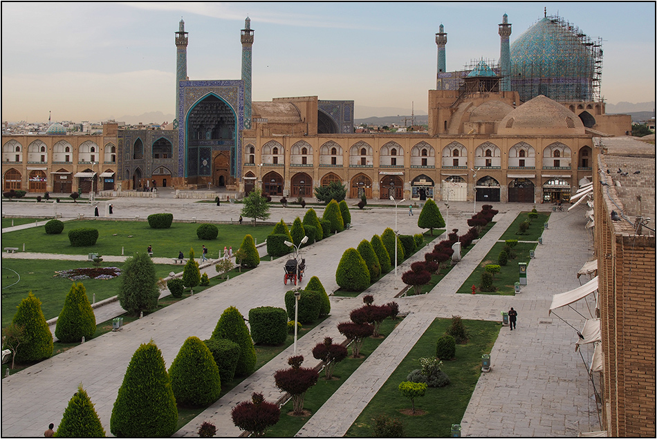 Am Imam-Platz in Isfahan
