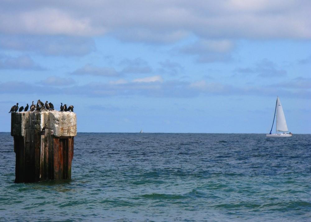 Am Kap Arkona gesehen