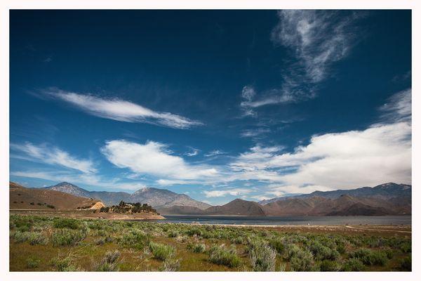 Am Lake Isabella - Kalifornien