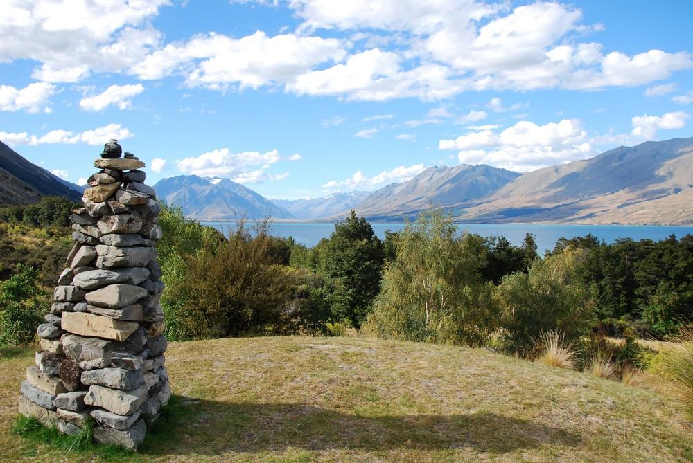 Am Lake Ohau - Neuseeland 2009