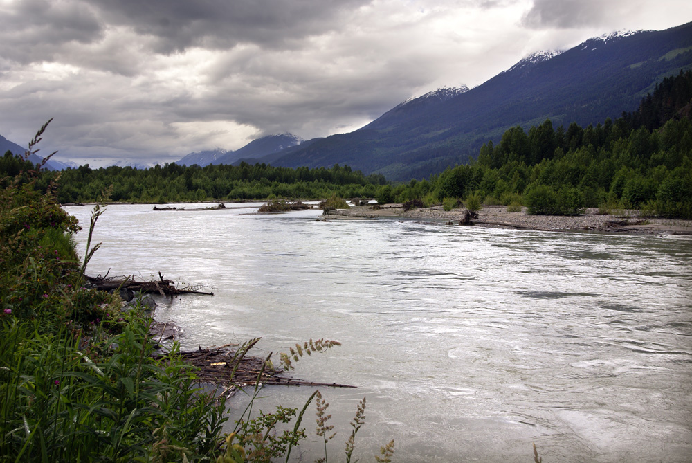 Am Lillooet River , Pemberton Valley