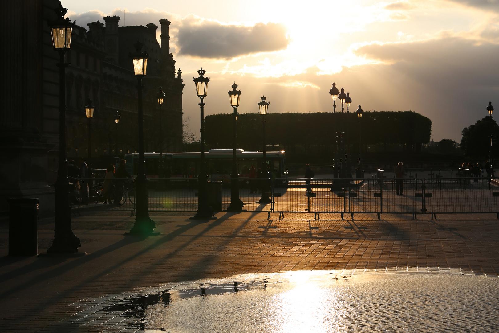 Am Louvre
