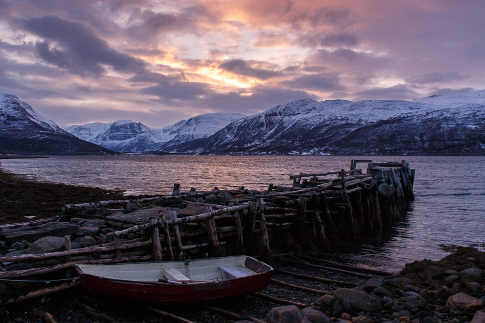 Am Lyngenfjord