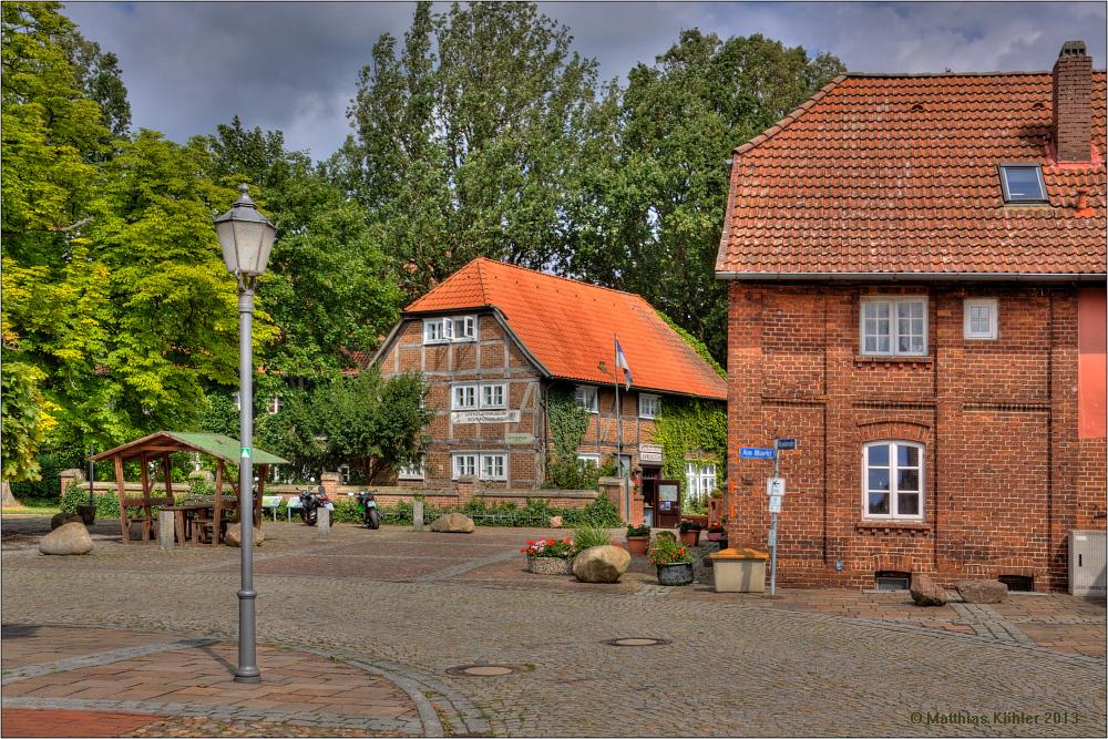 Am Markt von Schnackenburg