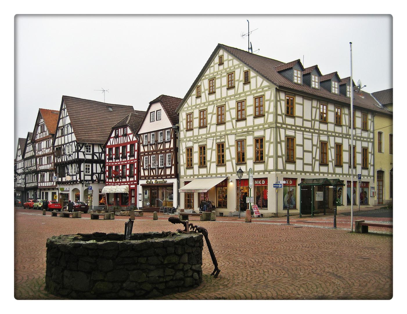 Am Marktplatz.......