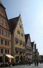 Am Marktplatz in Rothenburg ob der Tauber