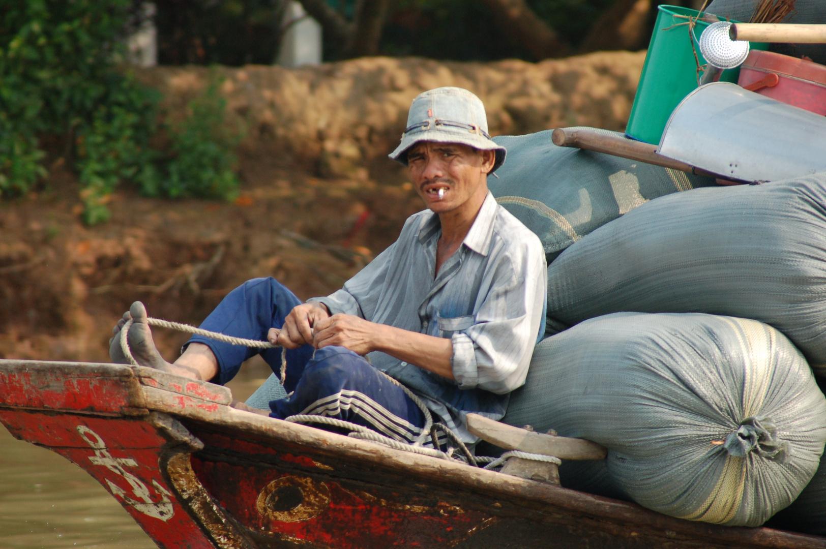 am Mekong...