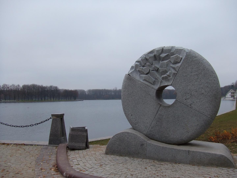 am Minsker See, noch im Herbst