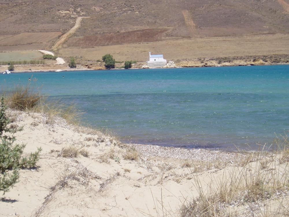 Am Molos (Badebucht) auf Paros.