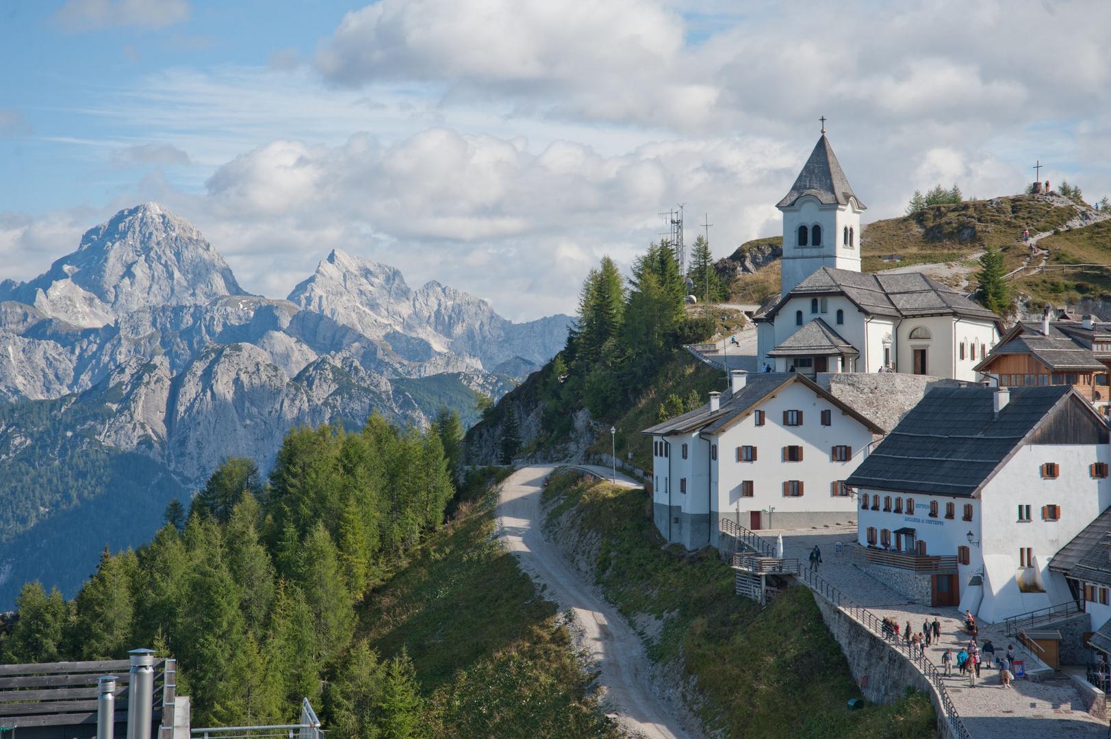 Am Monte Lussari bei Tarvis