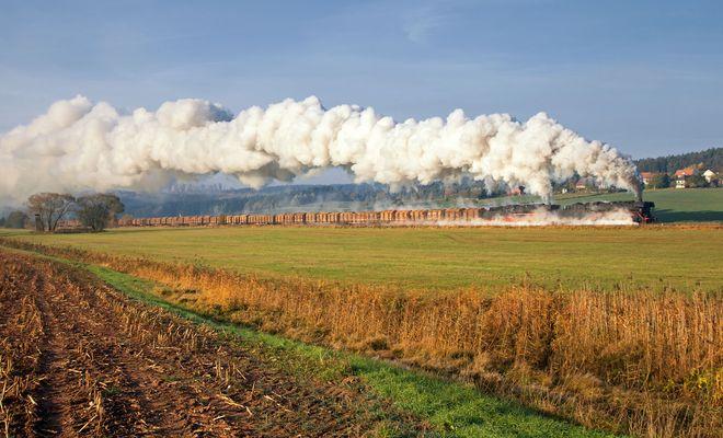 Am Morgen des 27.10.2011 bei Oberrohn ...
