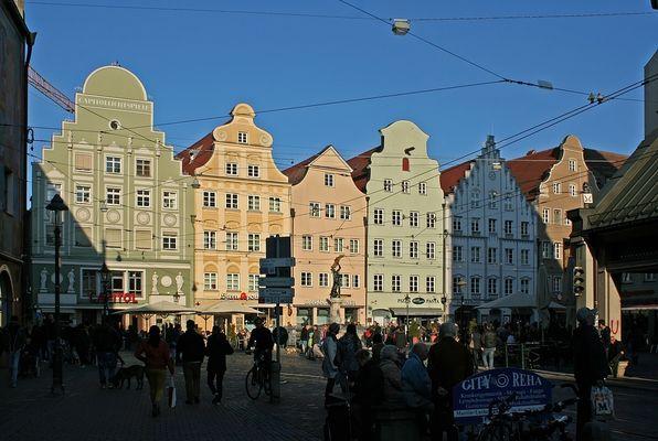 Am Moritzplatz in Augsburg