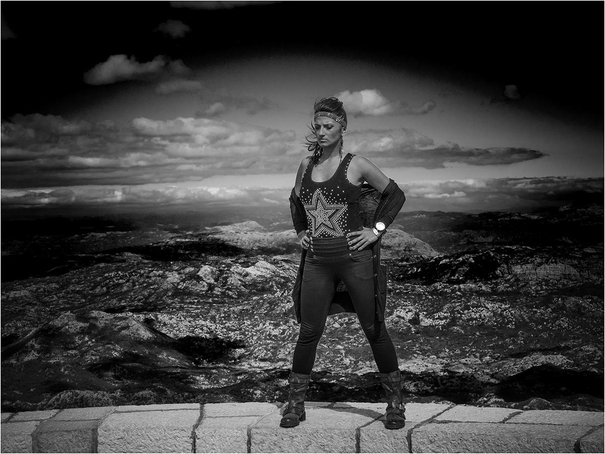 Am Mount Lovcen