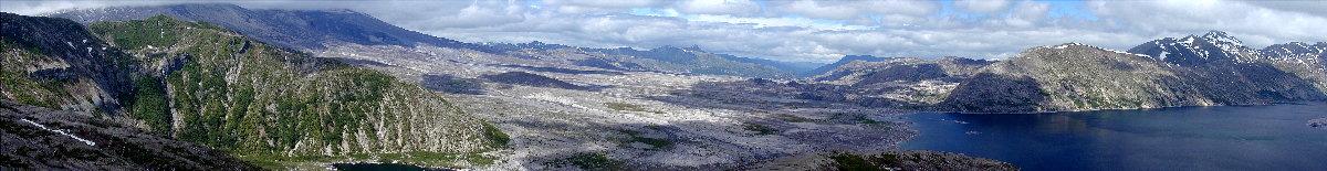 am Mount Sankt Helens