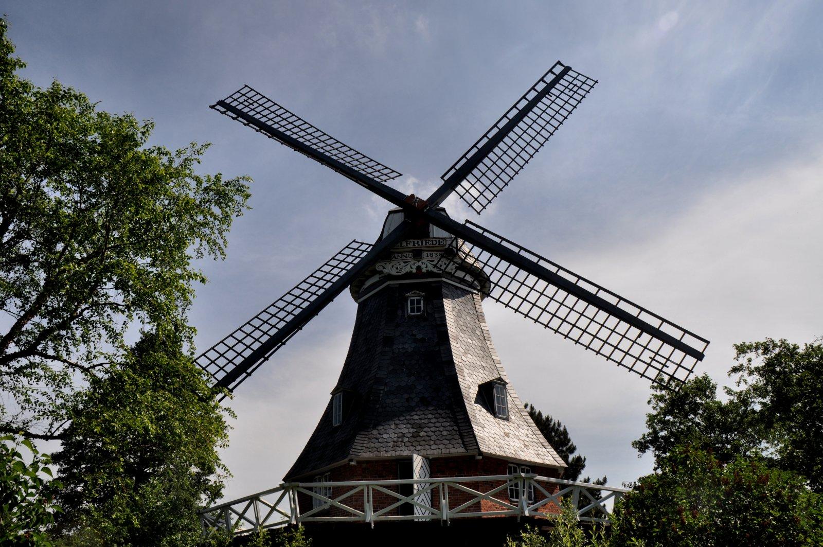 Am Mühlentag bei Elfriede