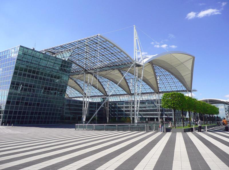 Am Münchener Flughafen
