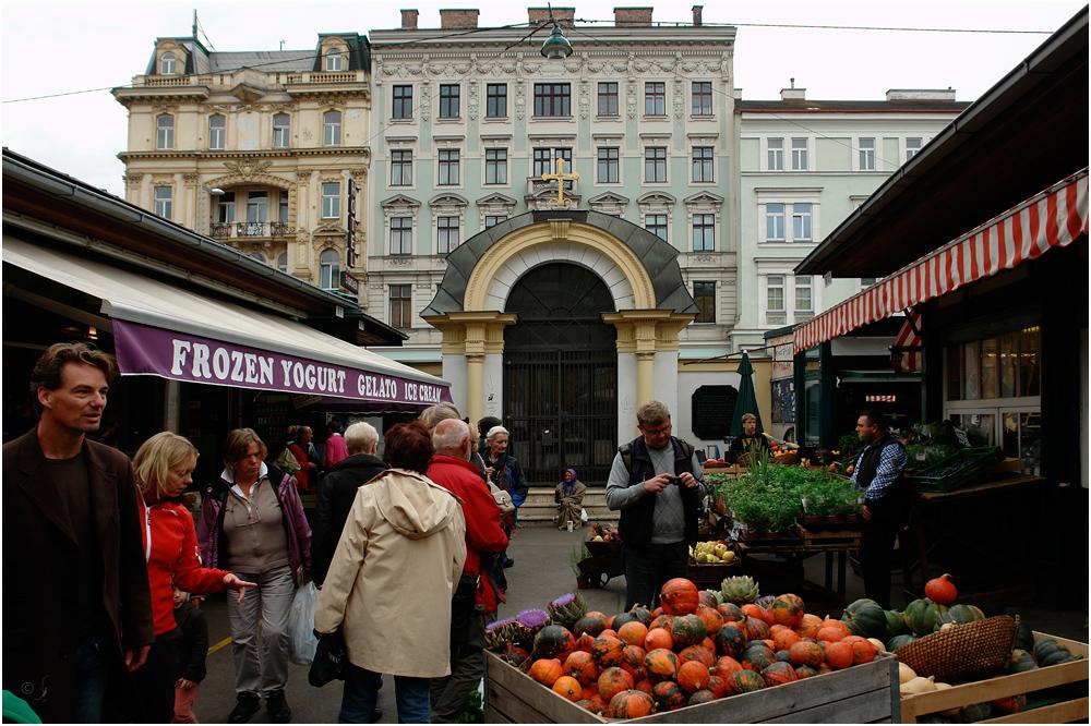 Am Naschmarkt...