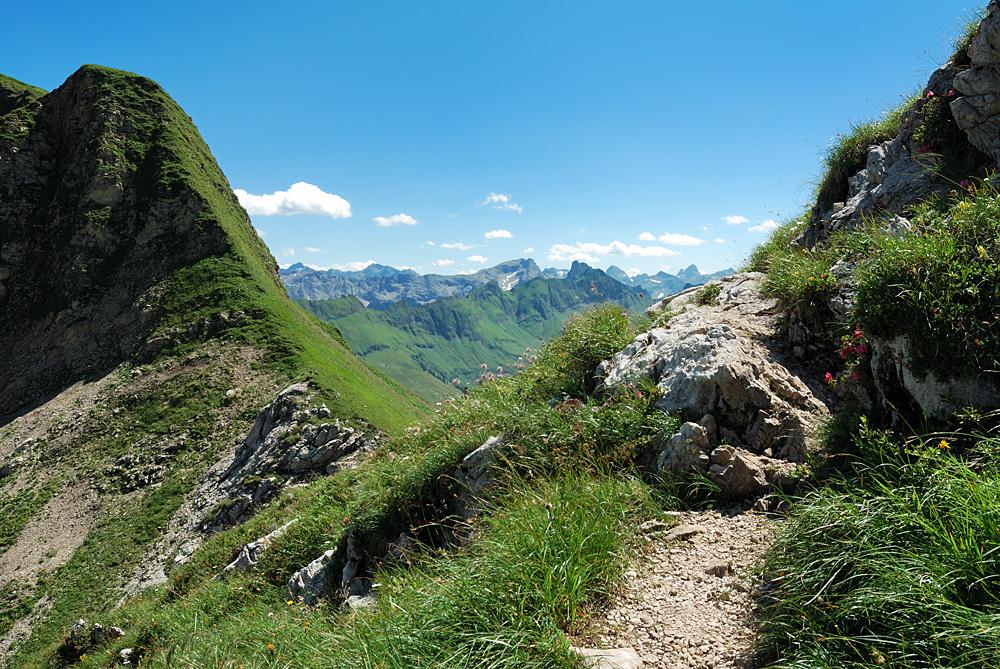 Am Nebelhorn....