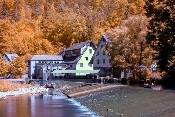 Am Neckar in Infrarot II
