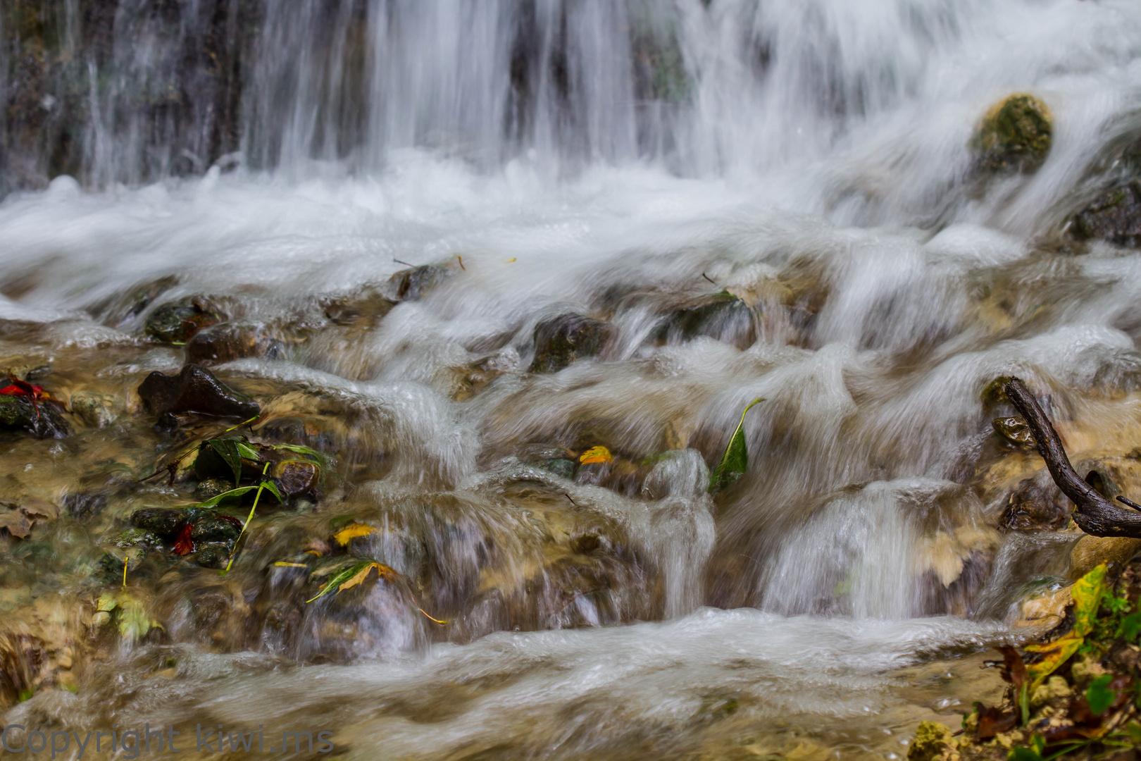 am Neidlinger Wasserfall