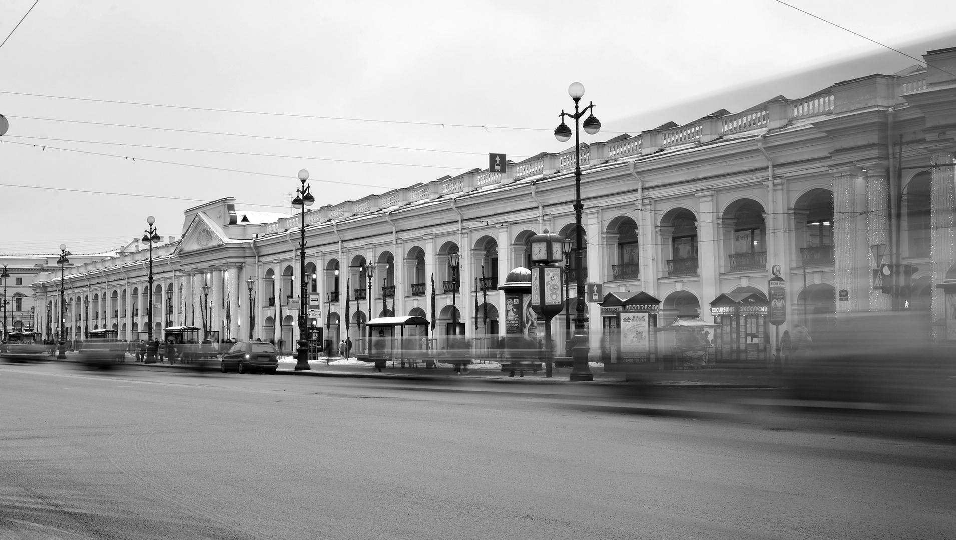 Am Nevsky Prospekt
