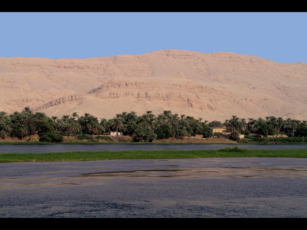 Am Nil zwischen Luxor und Assuan