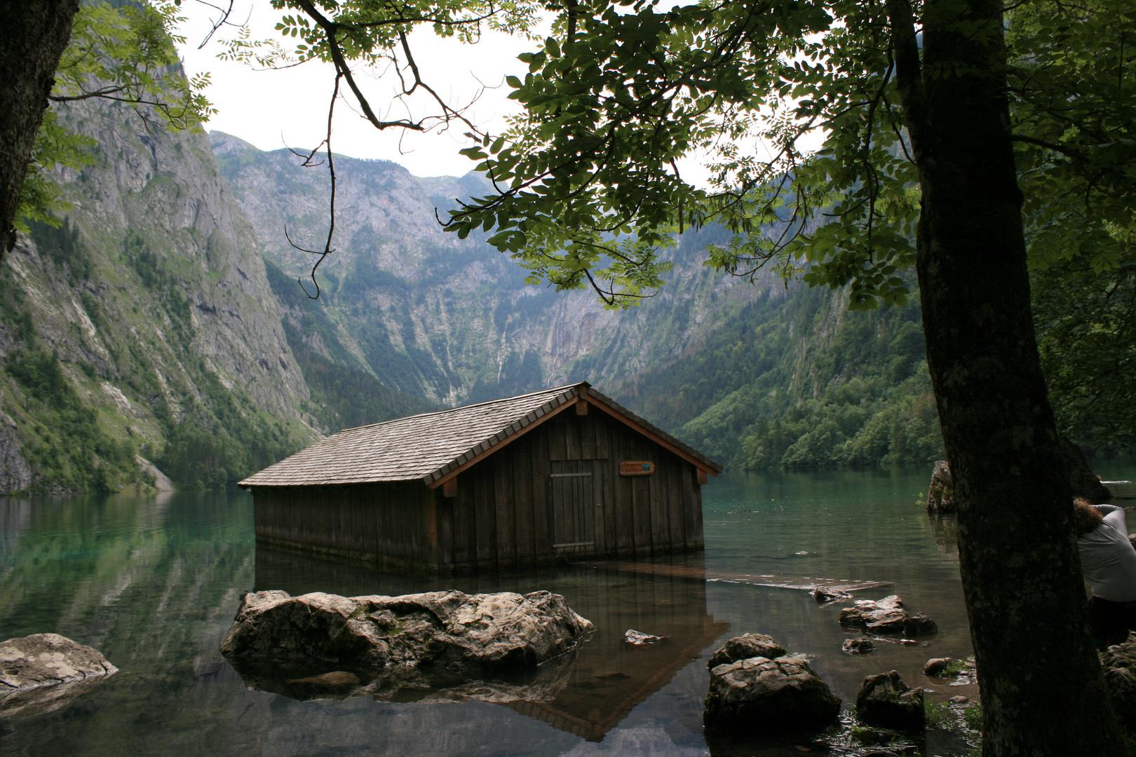 Am Obersee ( bei Berchtesgaden, hinter dem Königssee)