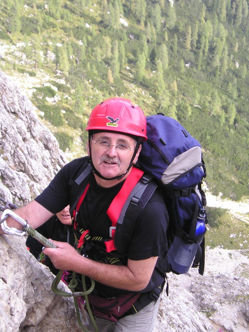 Am Pisciadú - Klettersteig