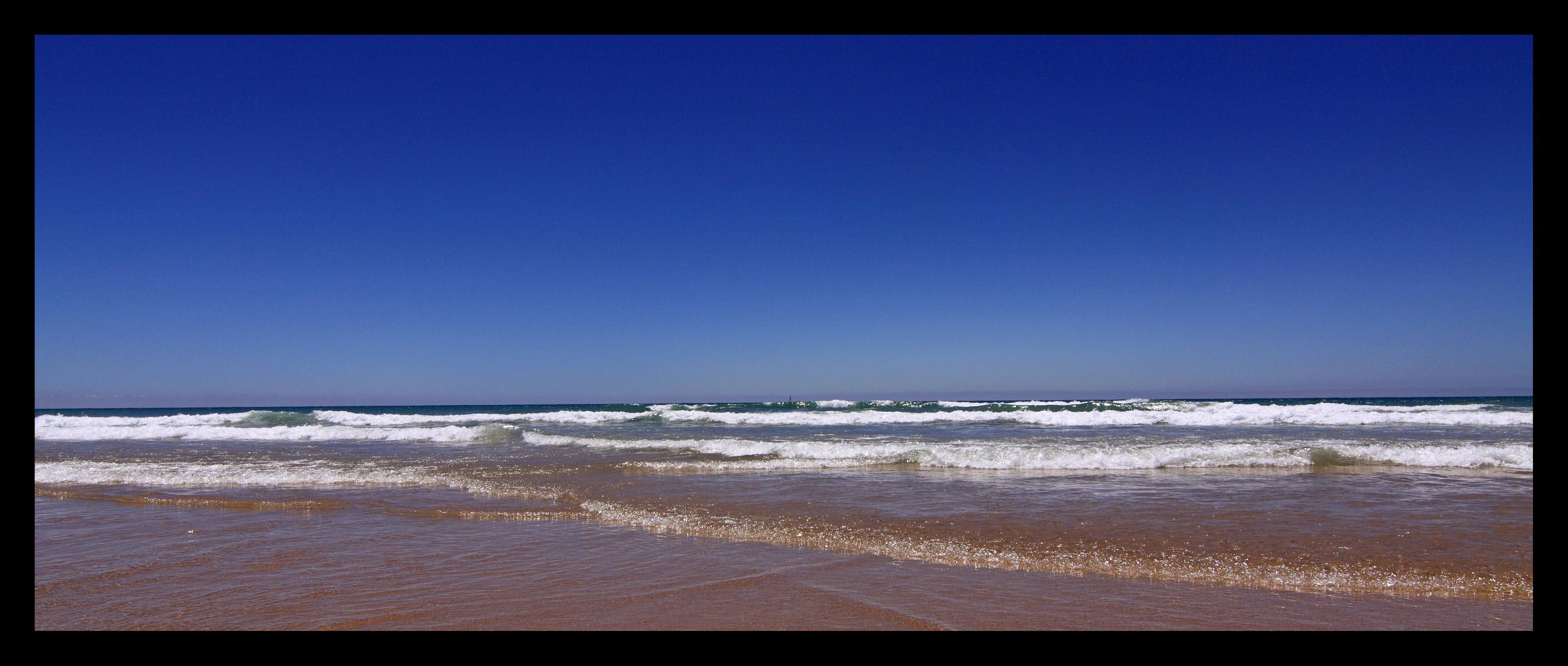 Am Playa la Barrosa ...