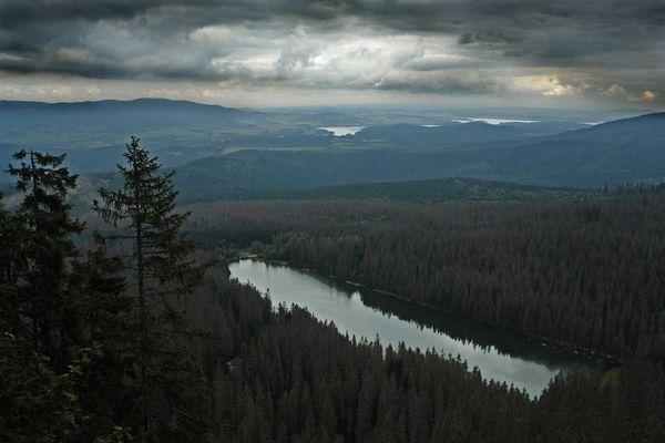 Am Plöckensteinsee/Tschechien