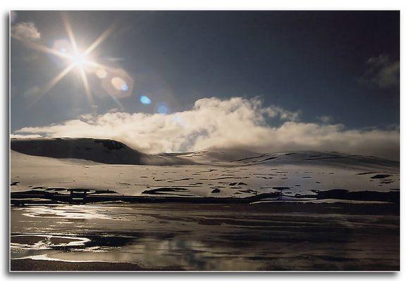 Am Polarkreis in Norwegen